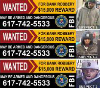 Armed Robbers' Pictures To Appear On Billboards