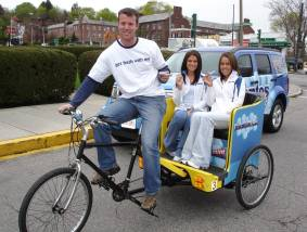 Pedicab Advertising for your Business (Bike Taxi)