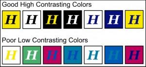 Billboard Color Contrast