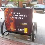 Coors Light - Pedicab Advertising, Rickshaw Advertising, Bike Taxi Advertising, Boston MA - BSO 2009