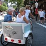 Coors Light - Pedicab Advertising, Rickshaw Advertising, Bike Taxi Advertising, Boston MA - Boston Globe 1