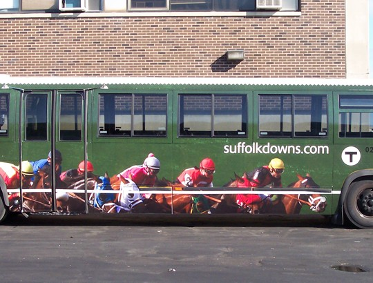 Suffolk Downs Race Track – Branding and Event Promotion Ad Campaign (MassCap)