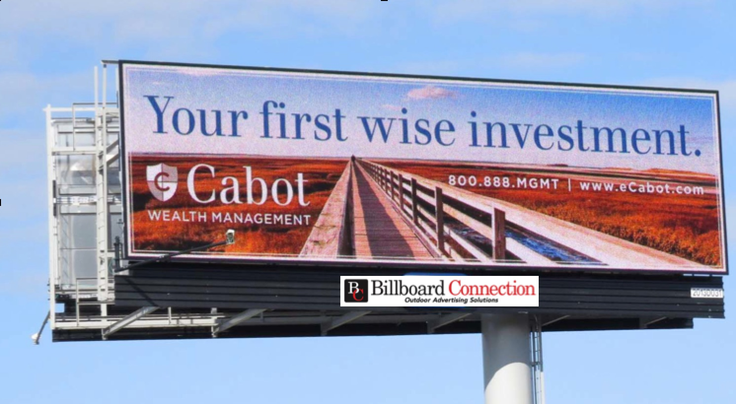 Digital Billboard (special offers) in Boston and throughout New England