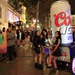 Coors Light - Pedicab Advertising, Rickshaw Advertising, Bike Taxi Advertising, Boston MA