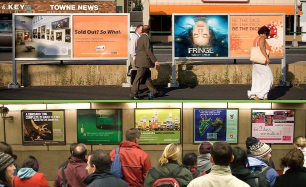 Subway Advertising – lower cost and maximum effect