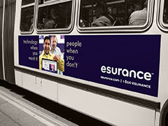 Esurance Launches Out-of-Home Advertising from Coast to Coast