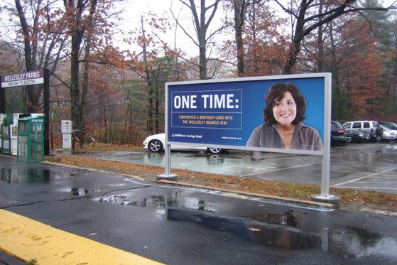 Transit Media Advertising - Subway Train Stop - Advertising Boston MA