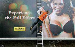 WonderBra Billboard Causing Accidents?